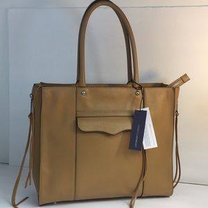 New Rebecca Minkoff medium MAB Leather Tote Bag